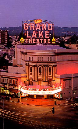Historic Grand Lake Theatre - Attractions/Entertainment - 3200 Grand Ave, Oakland, CA, 94610, US
